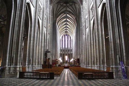 Orleans Cathedral Interior