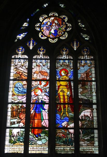 Joan of Arc, Orleans Cathedral