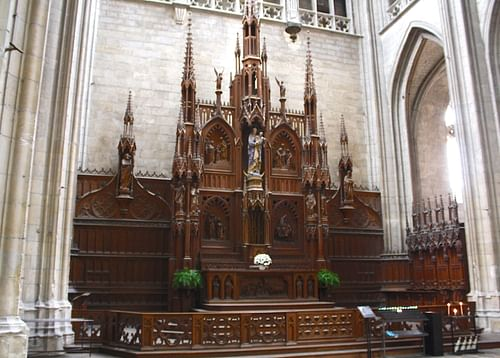 Altar of the Virgin, Orleans Cathedral