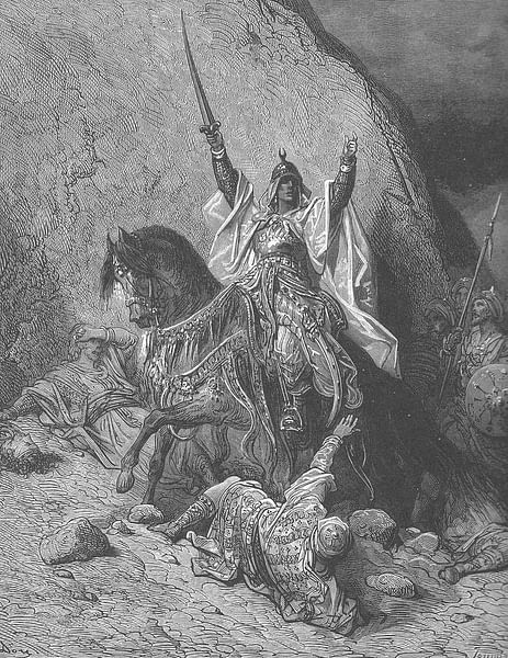 European Depiction of a Victorious Saladin