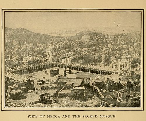 View of Mecca and the Sacred Mosque, 1900 CE