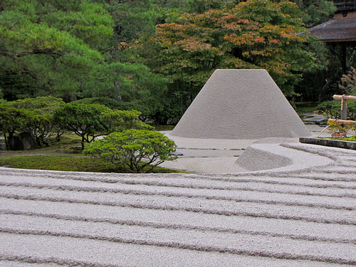 Sea of Silvery Sand, Ginkaku-ji