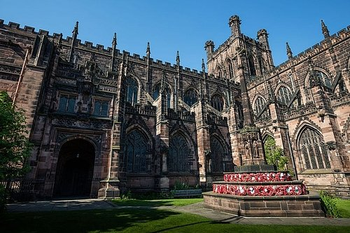 Chester Cathedral Exterior