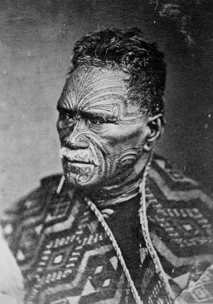 Tāwhiao  - Second King of the Māori