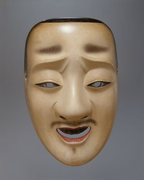 Noh Chujo Mask (by The Metropolitan Museum of Art, Copyright)