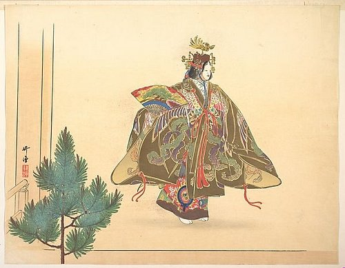Dancer, Noh Theatre Scene
