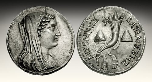 Coin Portrait of Berenice II