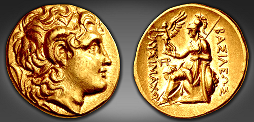 Coin of Lysimachus