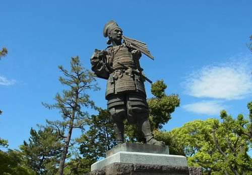 Statue of Oda Nobunaga (by Bariston, CC BY-NC-ND)