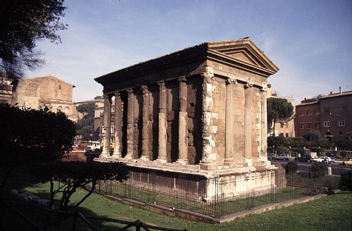 Rear, Temple of Portunus