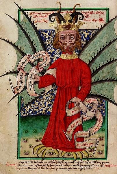 The Devil Selling Indulgences