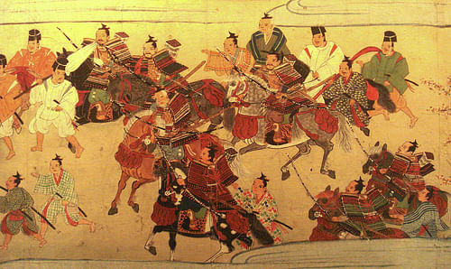 Muromachi Samurai (by Unknown Artist, Public Domain)