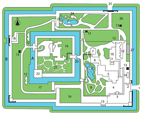Nijo Castle Plan
