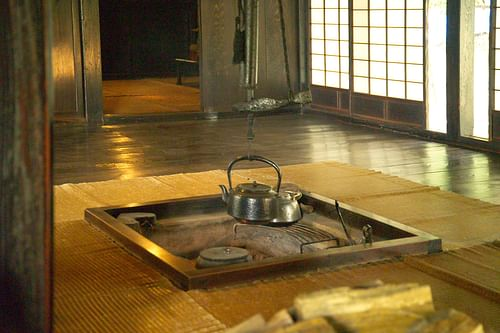 Traditional Japanese Hearth