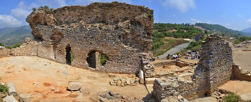 Bath Complex at Antiochia ad Cragum (by orientalizing, CC BY-NC-ND)