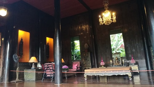 Drawing or Living Room at the Jim Thompson House Museum
