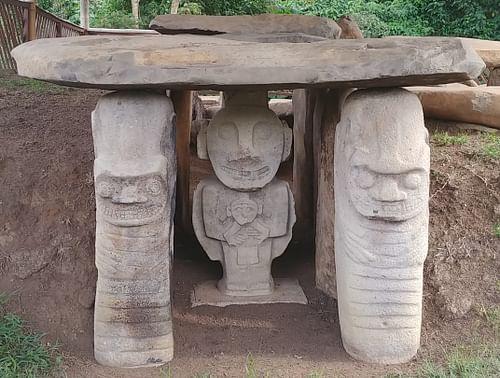 The Megalithic Funerary Art of San Agustín