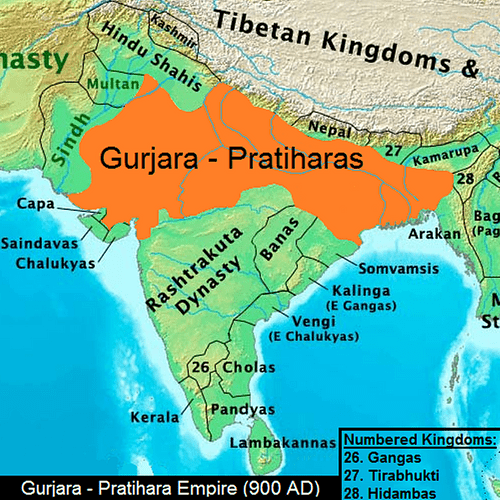 Gurjara-Pratihara Empire, Ancient India