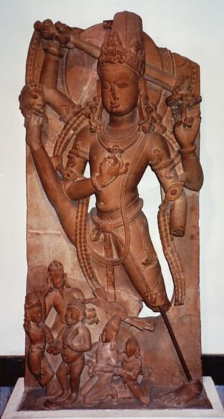 Vishnu in His Dwarf Incarnation