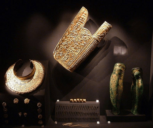 Scythian Quiver & Armour of a Woman, Vergina