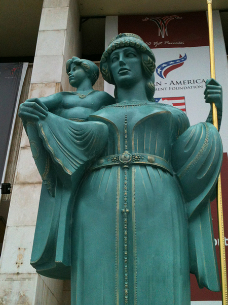 Statue of Queen Teuta