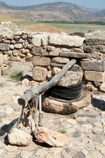 Oil Press, Tell Hazor (by Brandon Keepers, CC BY-NC-SA)