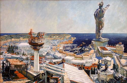 Ancient Rhodes by Frantisek Kupka
