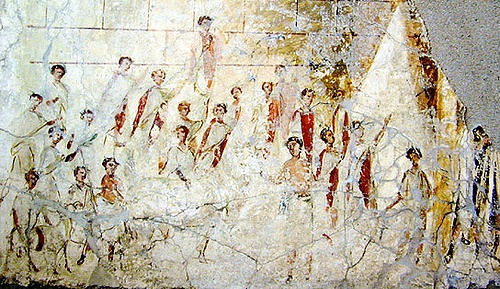 Magistrates Wall Painting, Pompeii