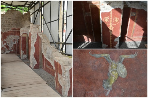 The School of Gladiators in Pompeii after Restoration