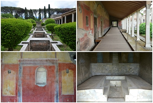 Water Garden of the Praedia of Julia Felix in Pompeii