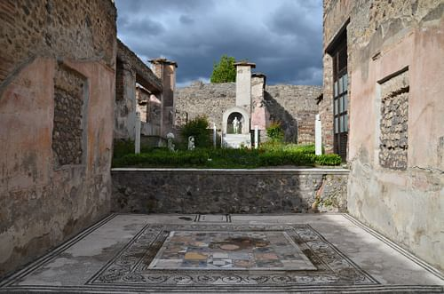 The House of Marcus Lucretius in Pompeii