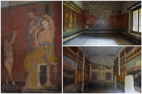 The Frescoes of the Villa of the Mysteries in Pompeii