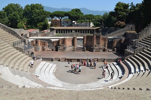 The Large Theatre of Pompeii