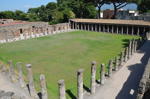 The Gladiators Barracks in Pompeii