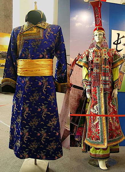 Mongol Clothing of the Imperial Court