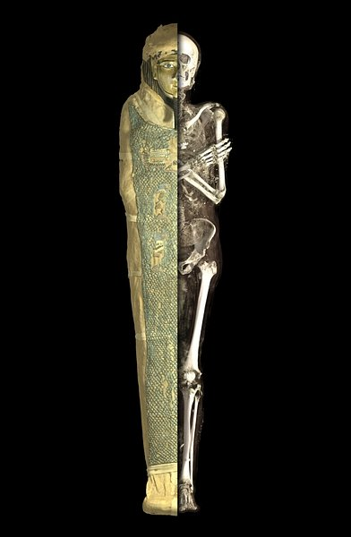 Visualisation of the Mummy of Irthorru