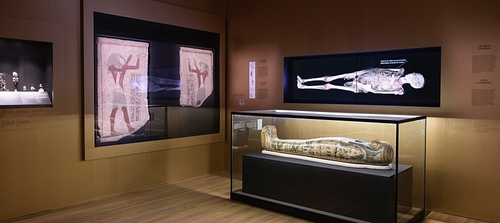 Egyptian Mummies at the Montreal Museum of Fine Arts