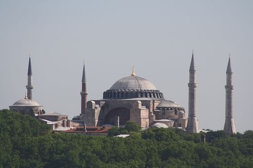 Hagia Sophia Panorama (by Mark Cartwright, CC BY-NC-SA)