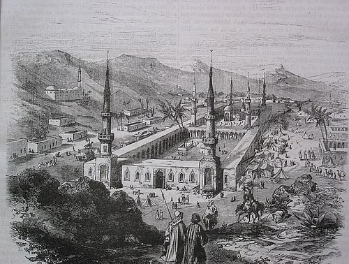 Prophetic Mosque in Medina, Ottoman Era