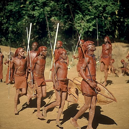 Maasai Warriors (by H.W. van Rinsum, CC BY-SA)