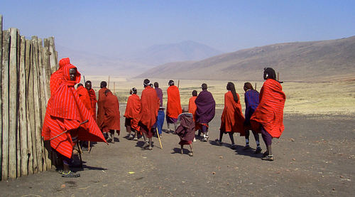 The Maasai of Ngorongoro