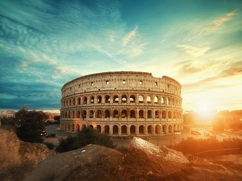 Image result for colosseum in italian language