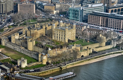 Tower of London Aerial View