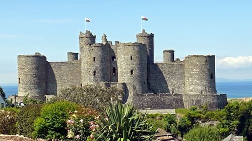 Harlech Castle Ancient History Encyclopedia
