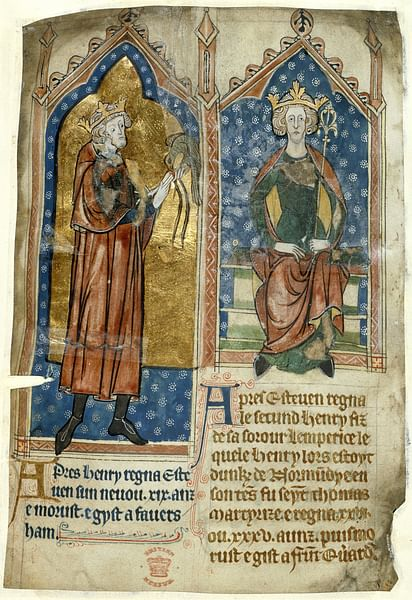 Stephen of England & Henry II of England