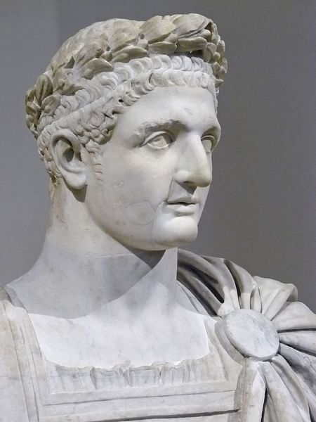 Roman Emperor Domitian, Louvre (by Mary Harrsch (Photographed at the Musée de Louvre))
