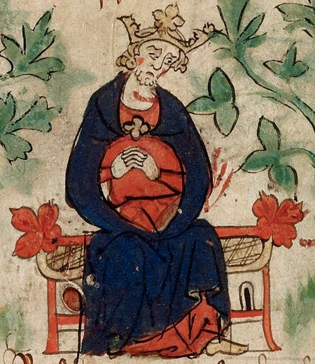 Henry I of England Illustration (by Unknown Artist, Public Domain)