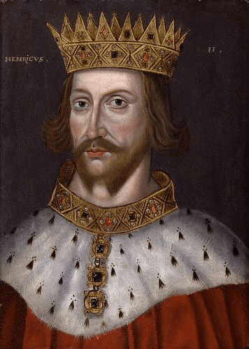 Henry II of England (by National Portrait Gallery, Public Domain)