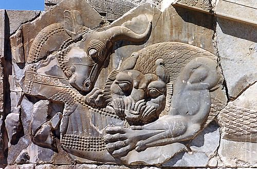 New Year's Image, Persepolis