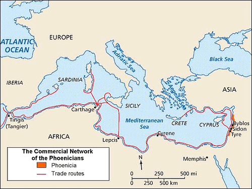 Phoenician Trade Network